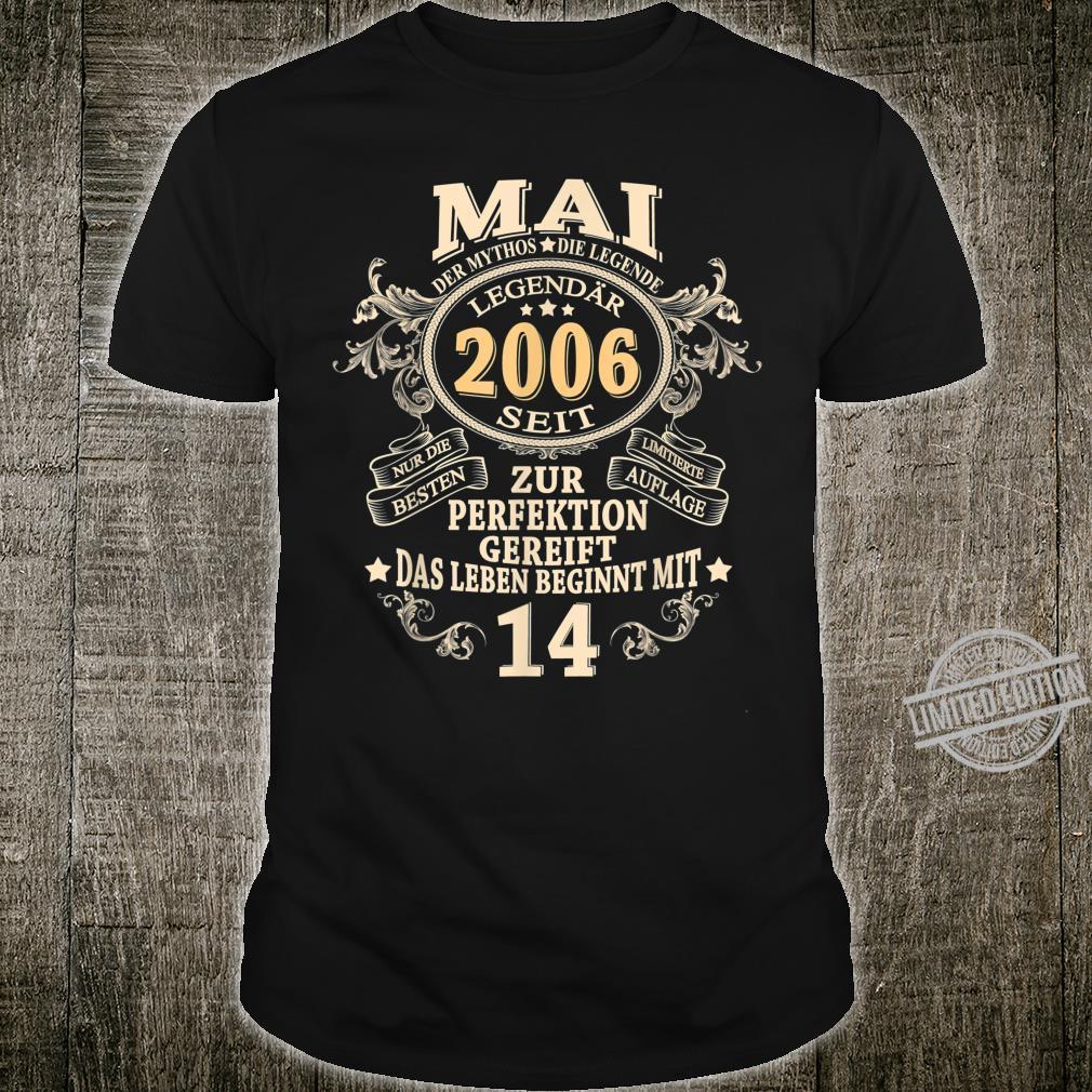 14ter Geburtstag Jungen Geschenk Zum 14 Geburtstag Shirt