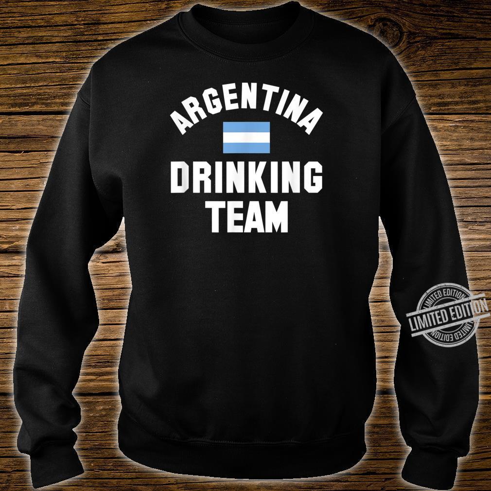 Argentina drinking team design for Argentina beer fests Shirt sweater