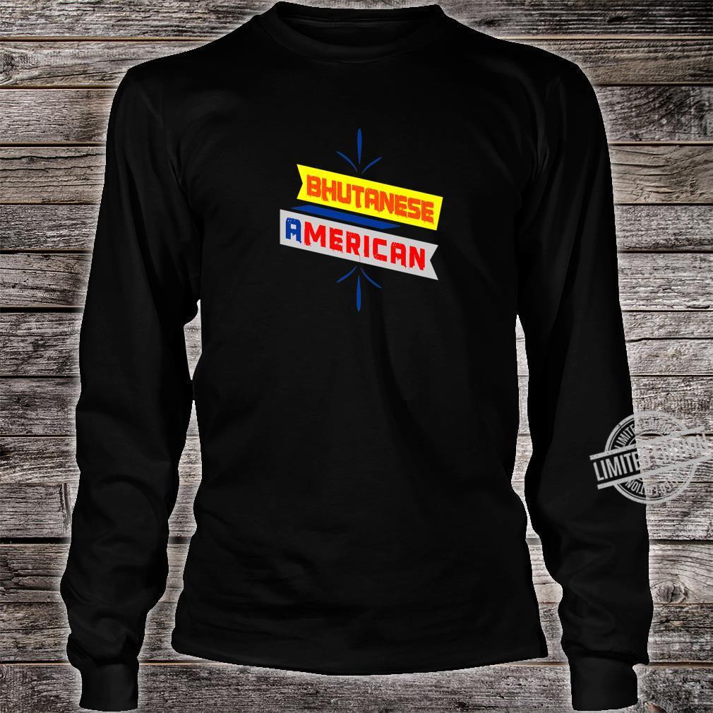 BHUTANESE AMERICAN Printed Shirt long sleeved