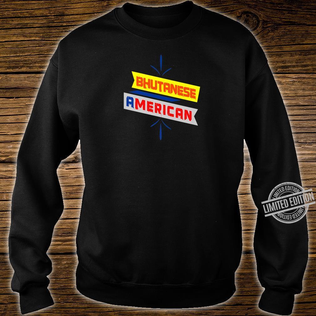 BHUTANESE AMERICAN Printed Shirt sweater