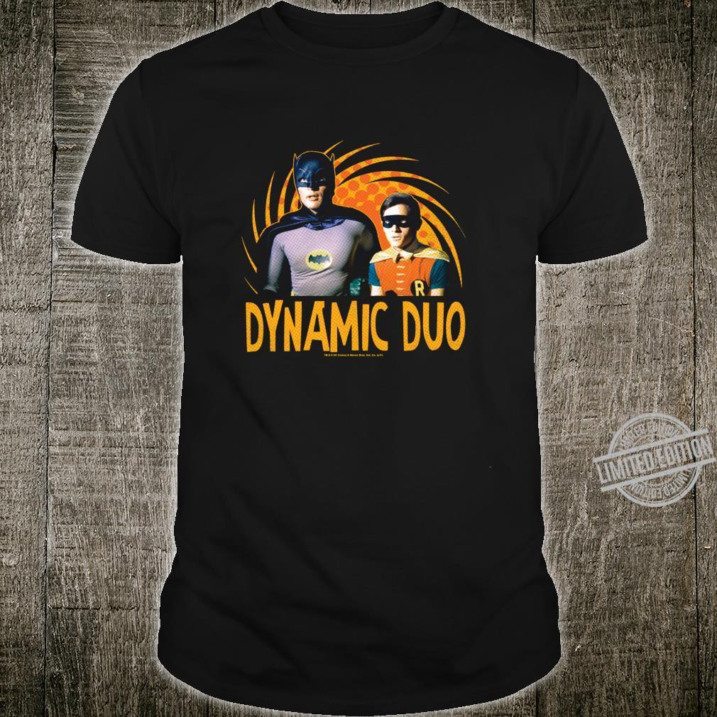 Batman Classic TV Series Dynamic Duo Langarmshirt Shirt