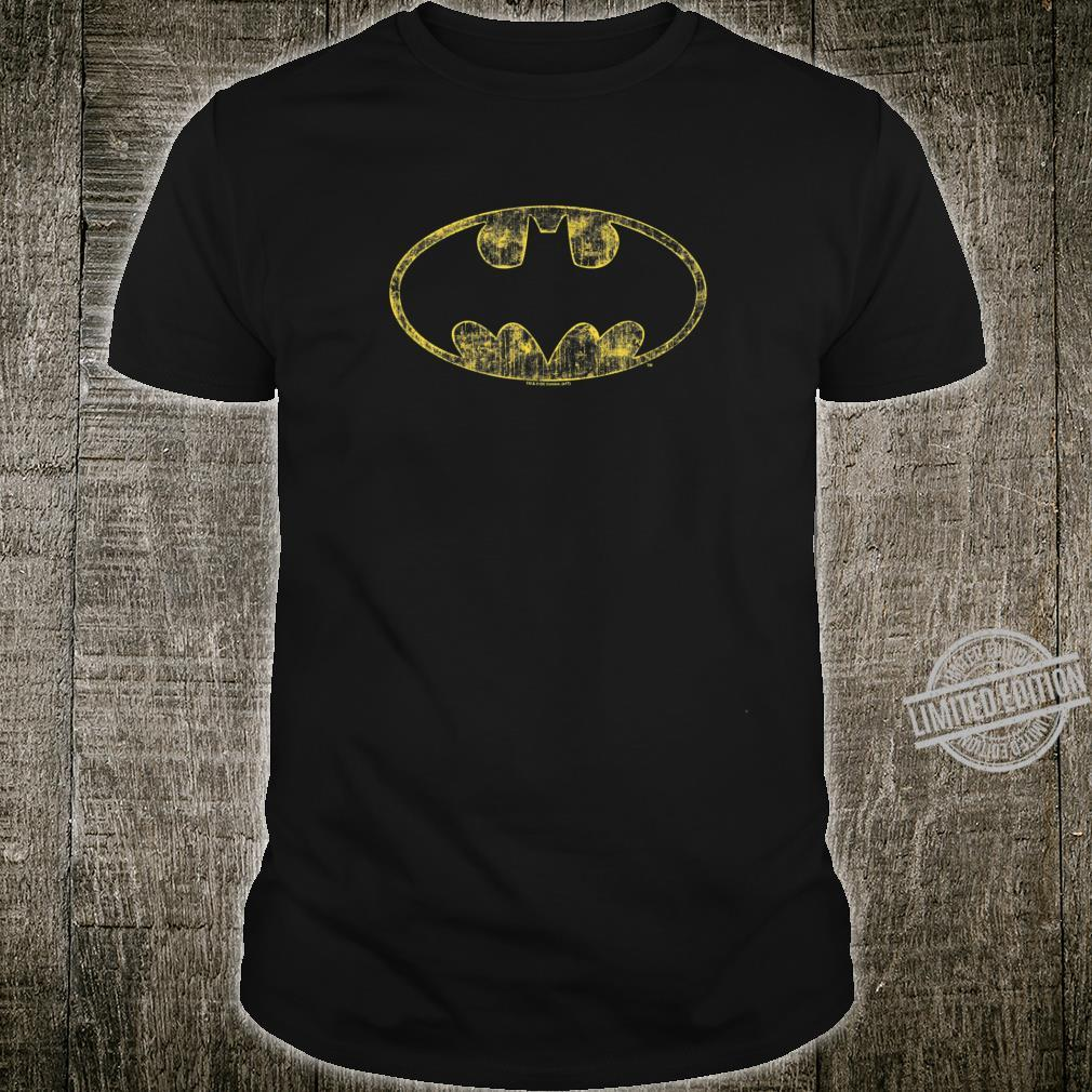 Batman Tattered Logo Shirt