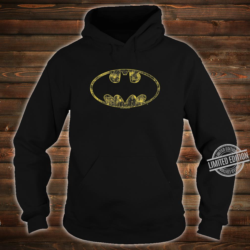 Batman Tattered Logo Shirt hoodie