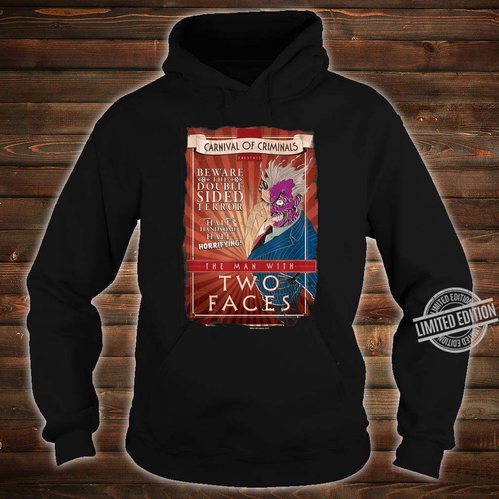 Batman TwoFaces Shirt hoodie