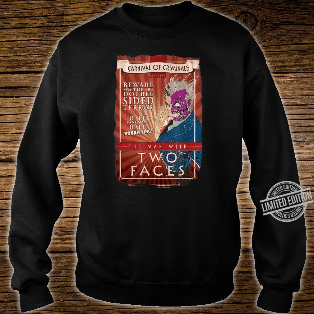 Batman TwoFaces Shirt sweater