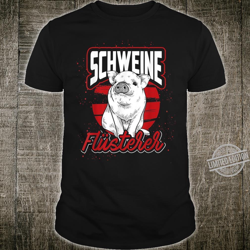 Bauernhof Geschenk Landwirt Schwein Shirt
