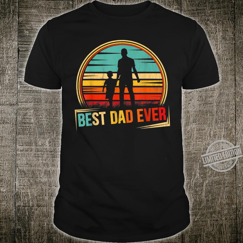 Best Dad Ever Daddy and Son Father's day 2020 Shirt