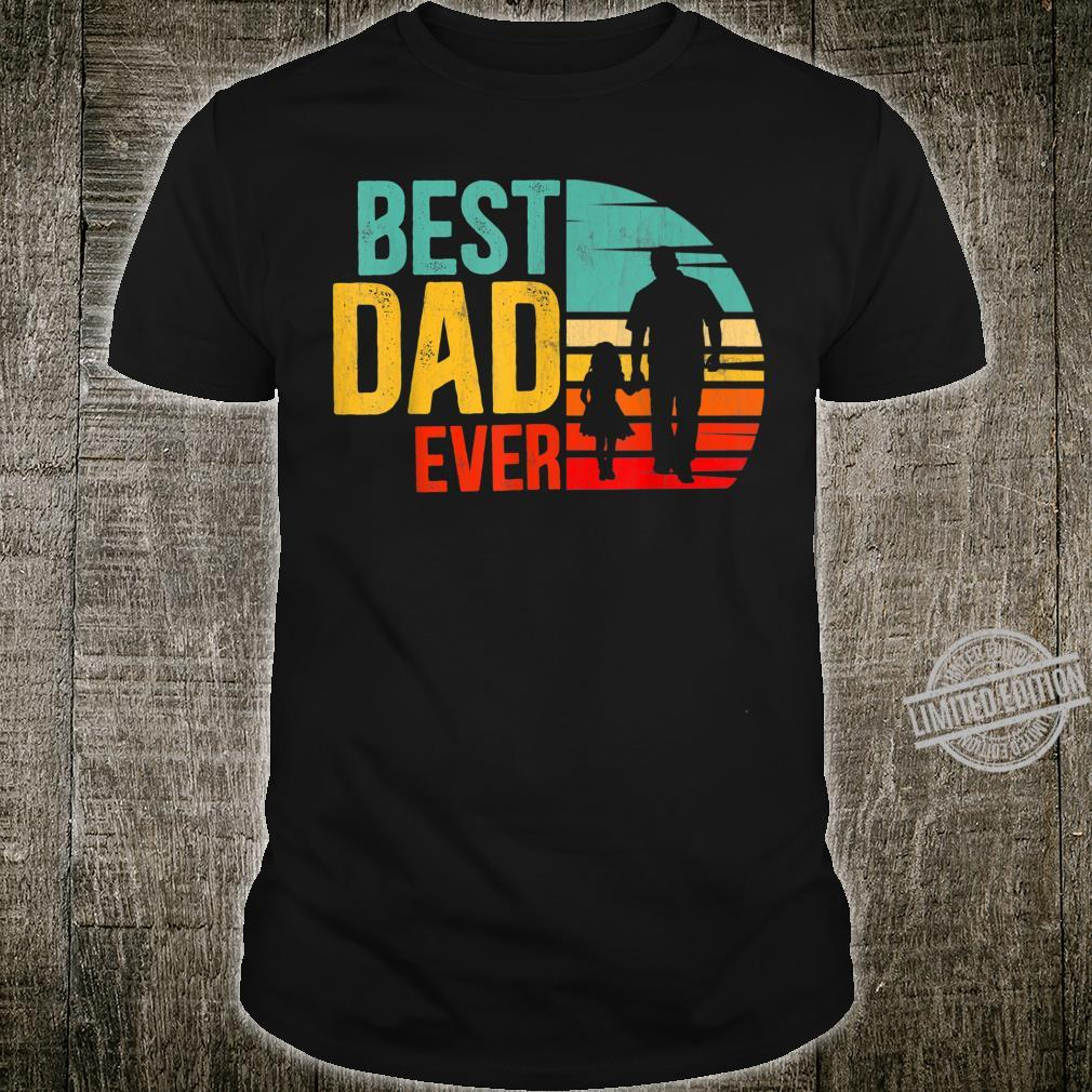 Best Dad Ever Vintage Daddy & Daughter Dad Fathers day 2020 Shirt