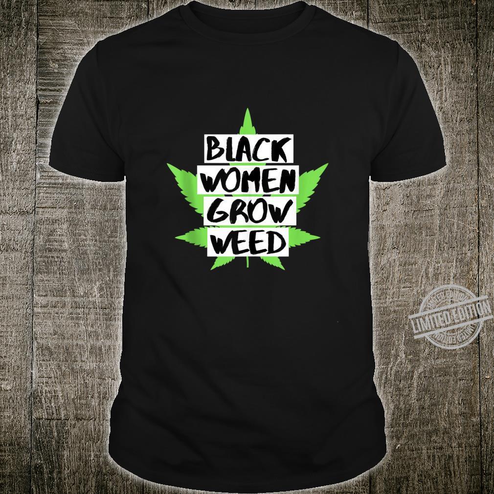 Black Grow Weed V2 Shirt