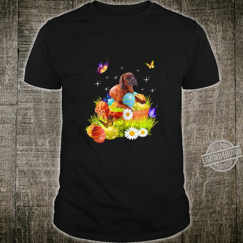 Bloodhound Easter Day Love Rabbit Eggs Cute Shirt