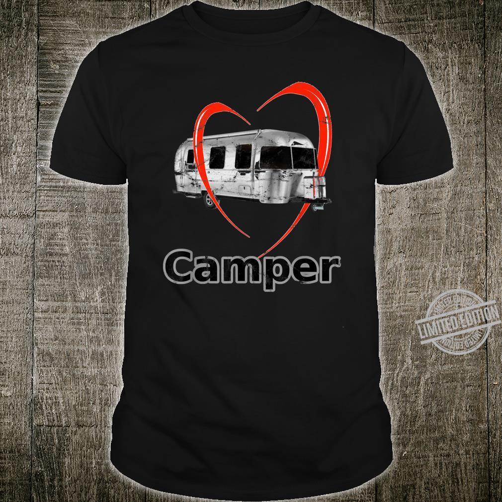 Camper Geschenk für Camping Urlaub Wohnwagen Shirt