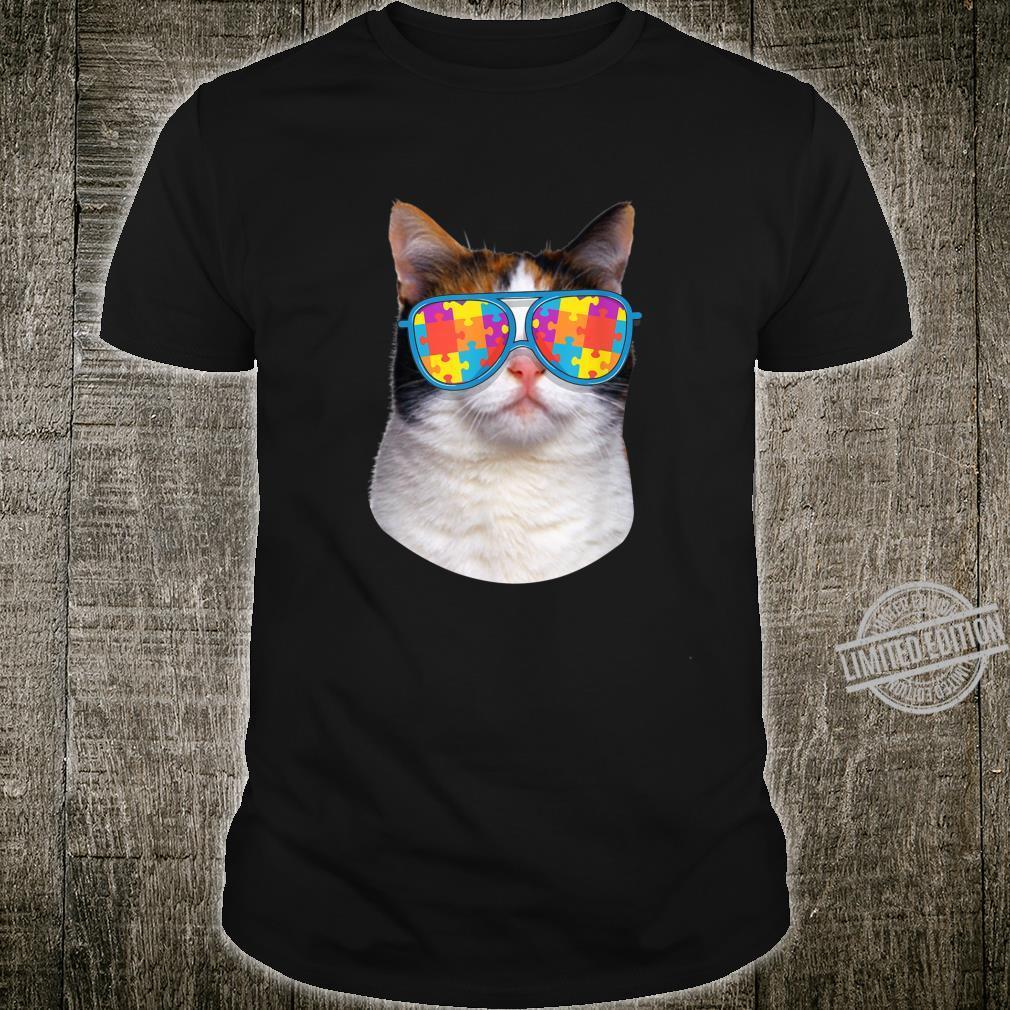 Cat Autism Awareness Japanese Bobtail Shirt