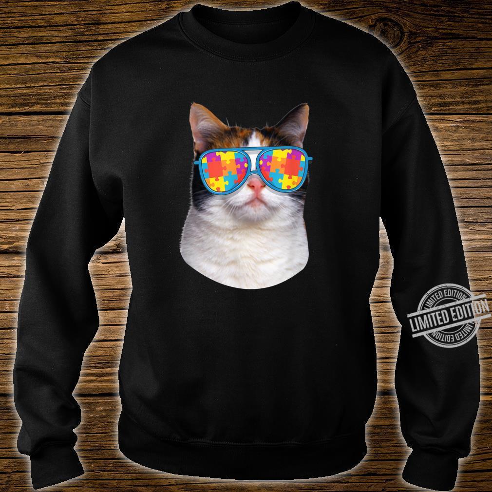 Cat Autism Awareness Japanese Bobtail Shirt sweater