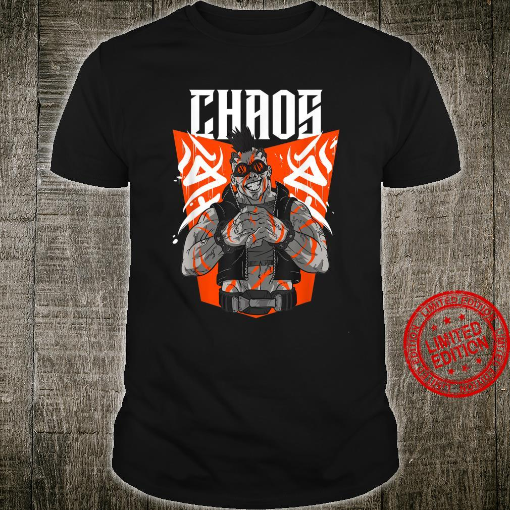 Chaos Steampunk Goggles Tattooed Apocalyptic Street Punk Shirt