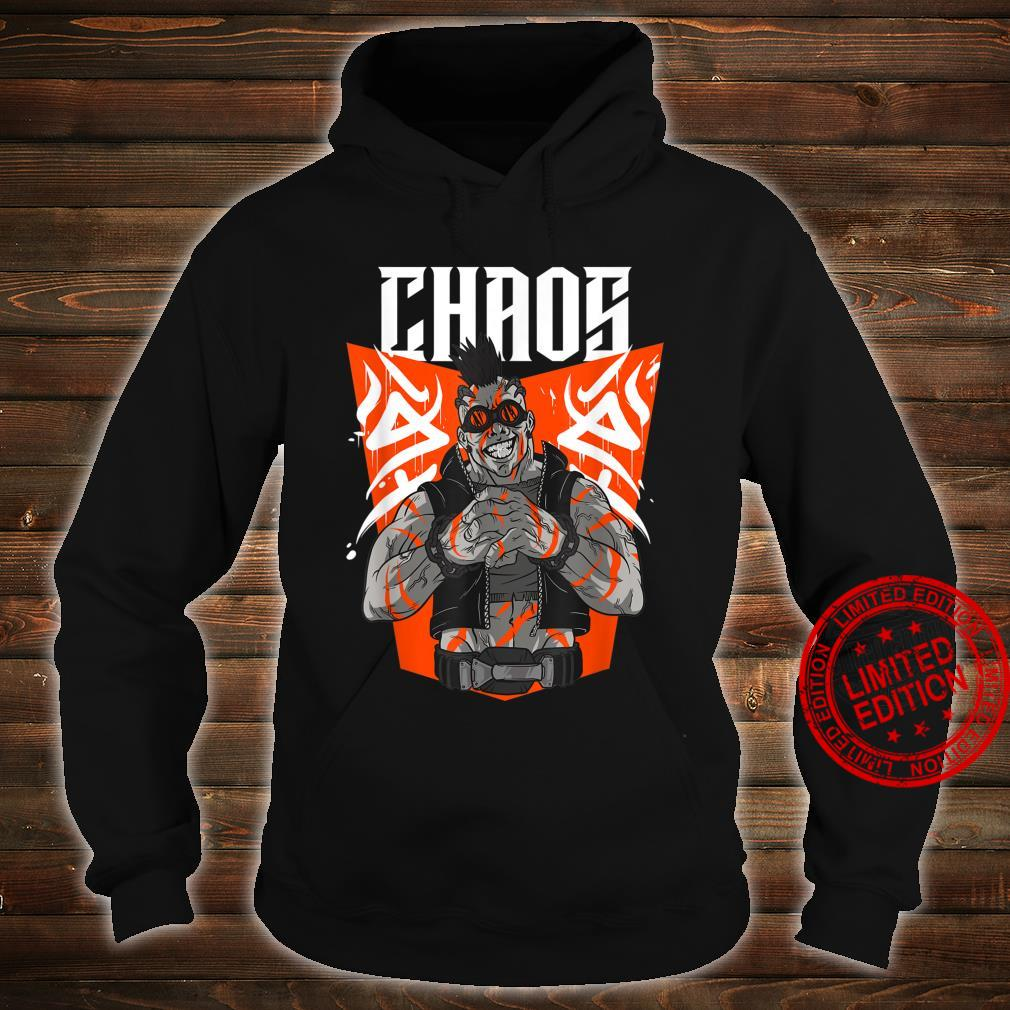 Chaos Steampunk Goggles Tattooed Apocalyptic Street Punk Shirt hoodie