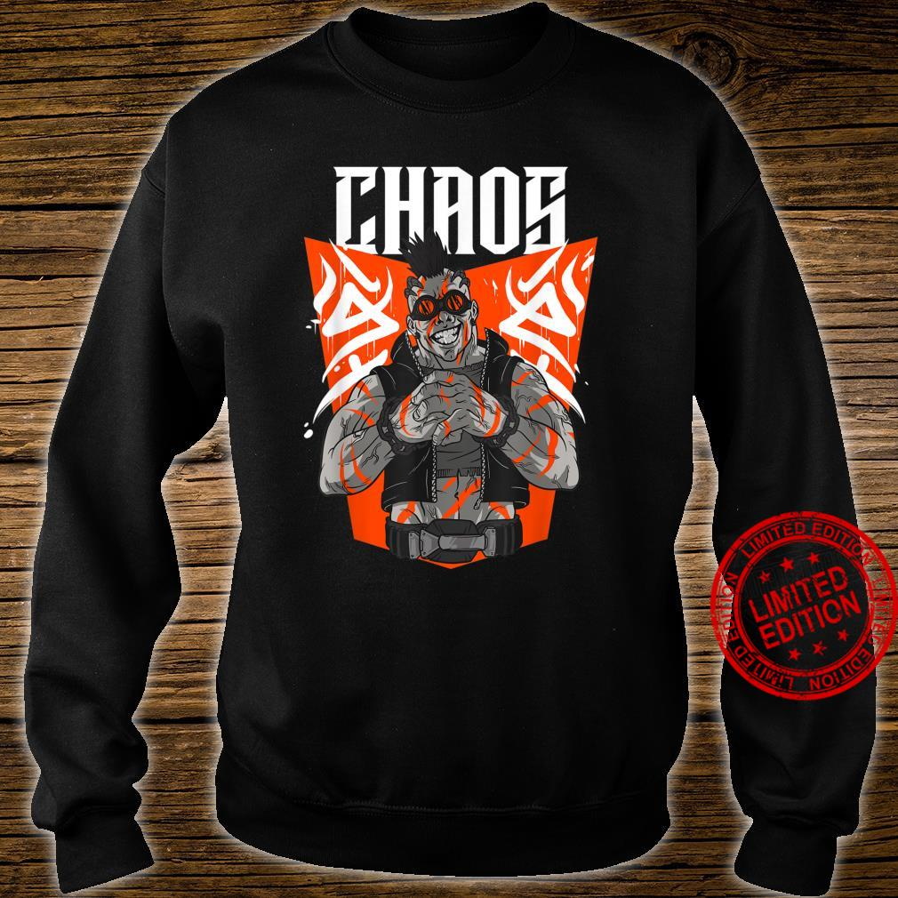 Chaos Steampunk Goggles Tattooed Apocalyptic Street Punk Shirt sweater