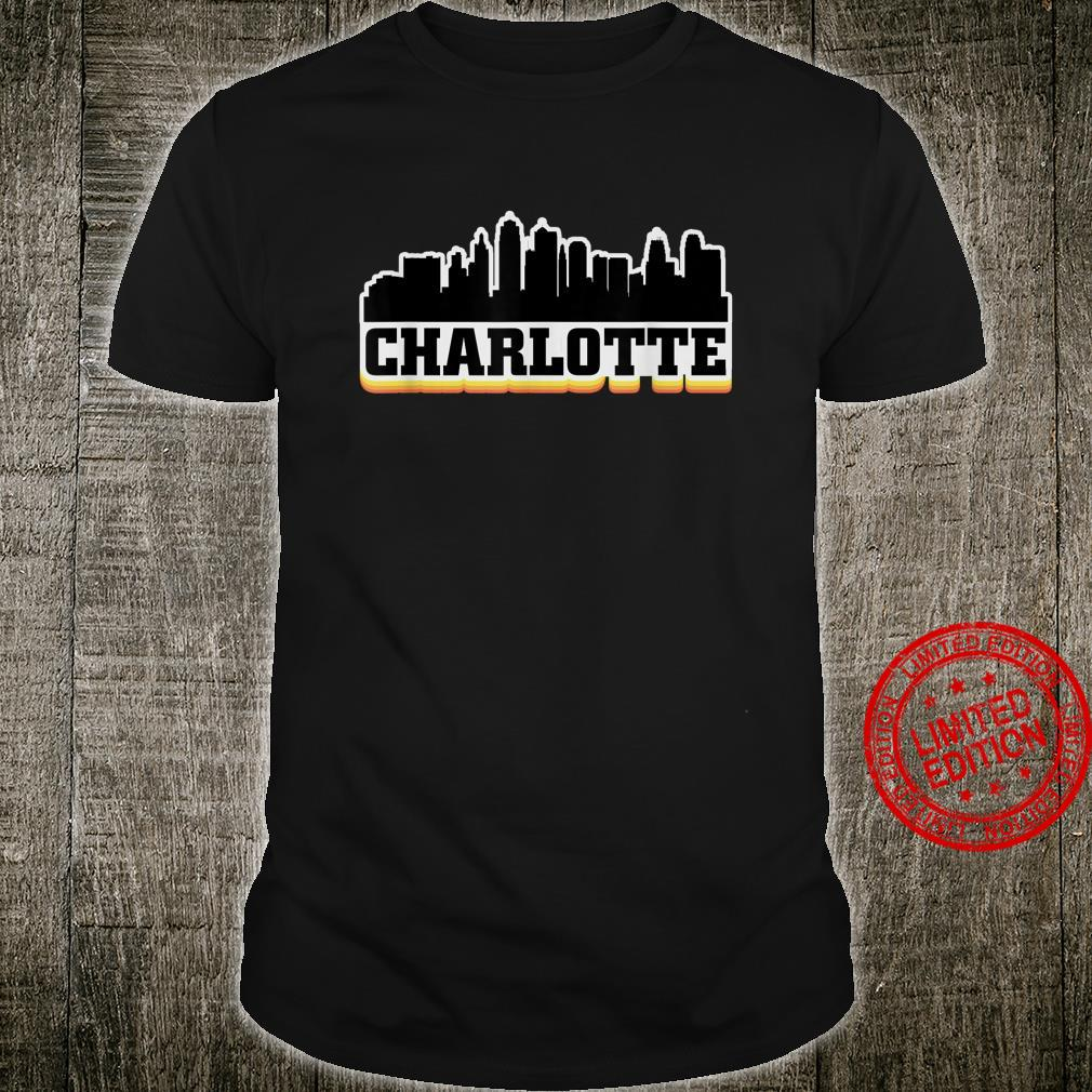Charlotte North Carolina Skyline Shirt