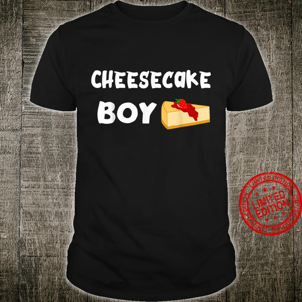 Cheesecake Boy Cheese Cake Dessert Confectioner Foodies Shirt