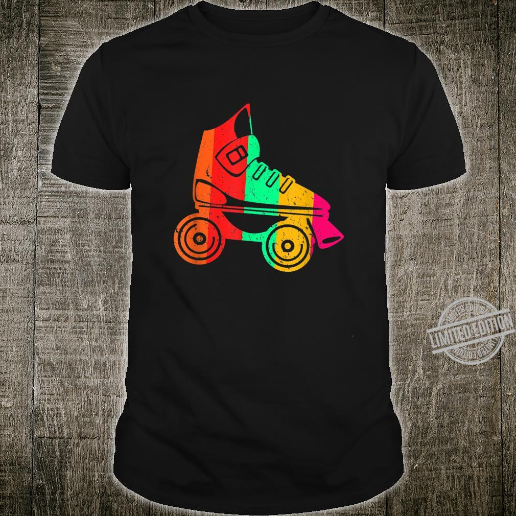 Colorful Roller Skate Awesome Roller Skating Roller Skaters Shirt