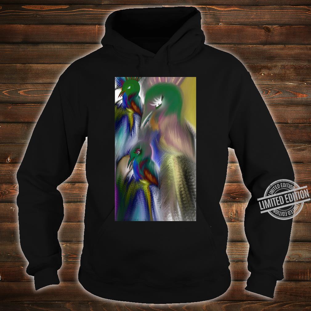 Colorful bird Shirt hoodie