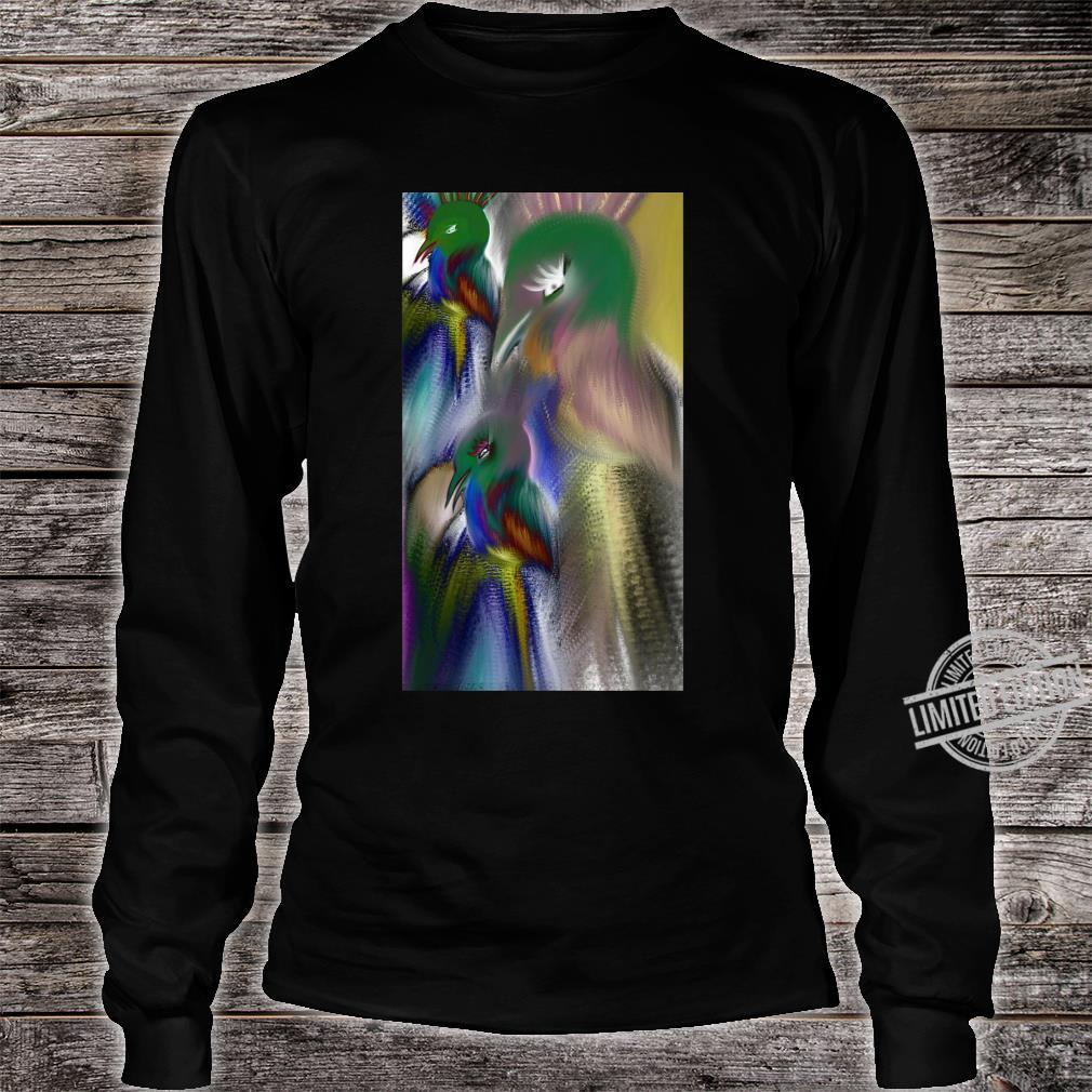 Colorful bird Shirt long sleeved
