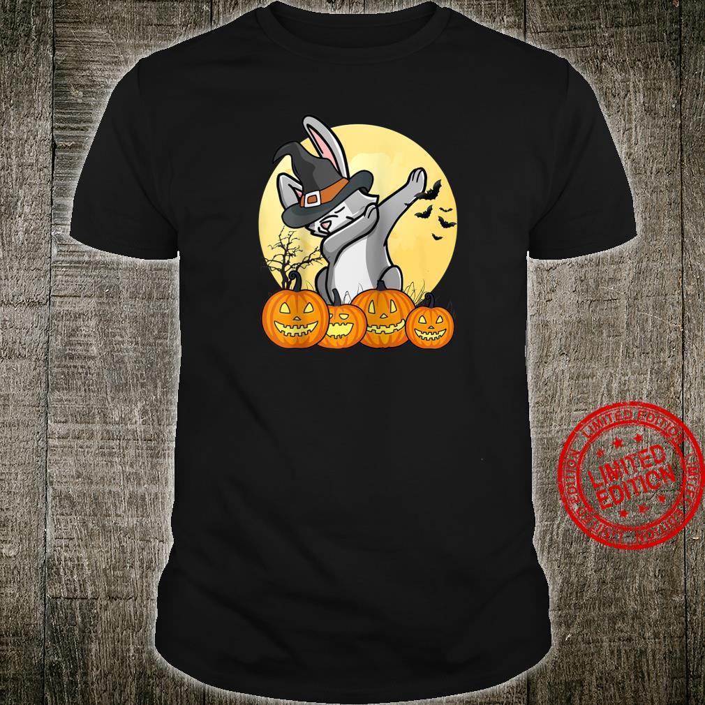 Dabbing Rabbit Dab Dance Pet Halloween Shirt