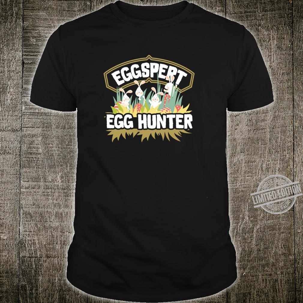 Easter Egg Hunt Shirt Eggspert Egg Hunter For & Family Shirt
