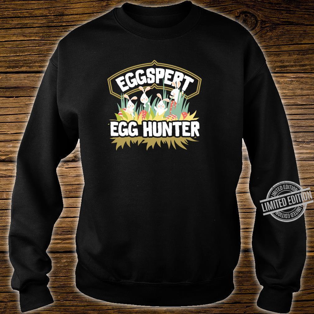 Easter Egg Hunt Shirt Eggspert Egg Hunter For & Family Shirt sweater