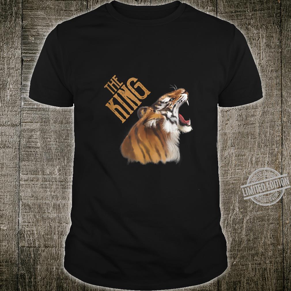 Fantastic Tiger Wild King Exotic Powerful Animal Vintage Art Shirt