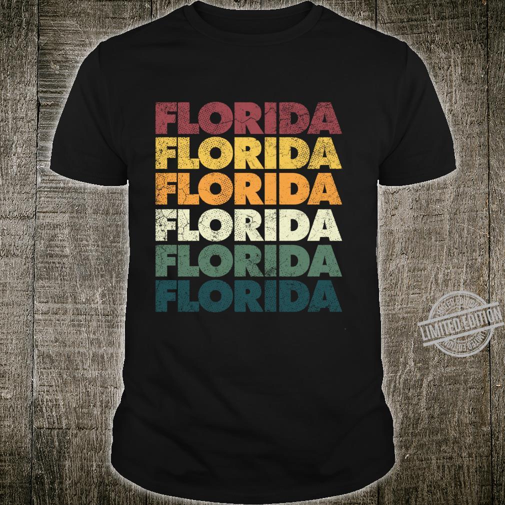 Florida Vintage Retro Style Mom Dad Shirt Shirt