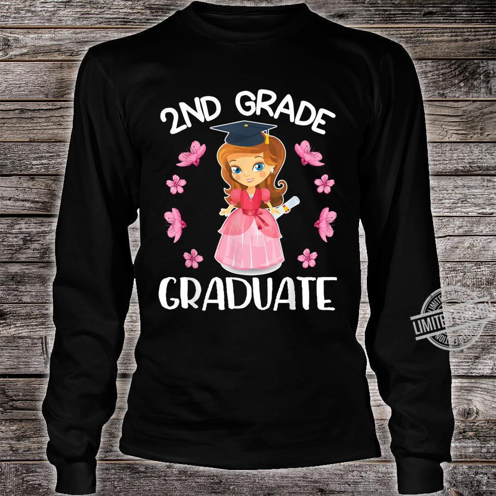 Flowers Happy Senior Girl 2nd Grade Graduate Class Of School Shirt long sleeved