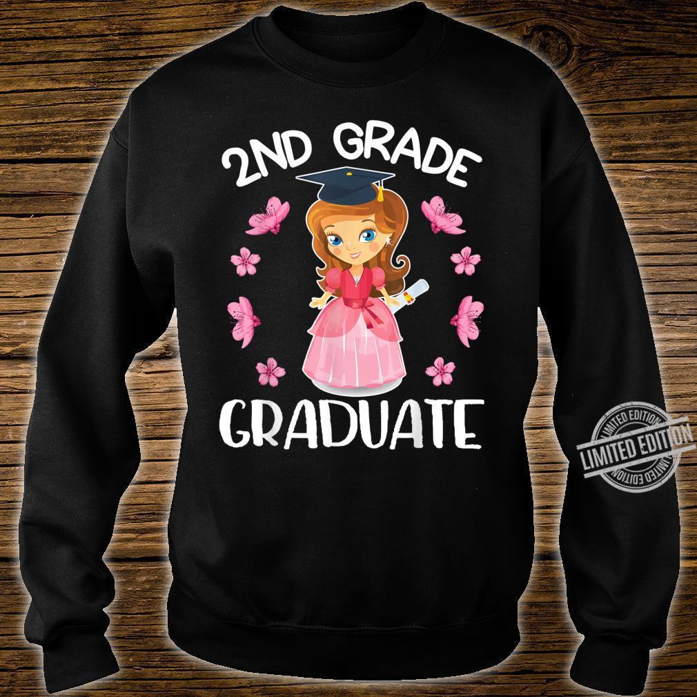 Flowers Happy Senior Girl 2nd Grade Graduate Class Of School Shirt sweater
