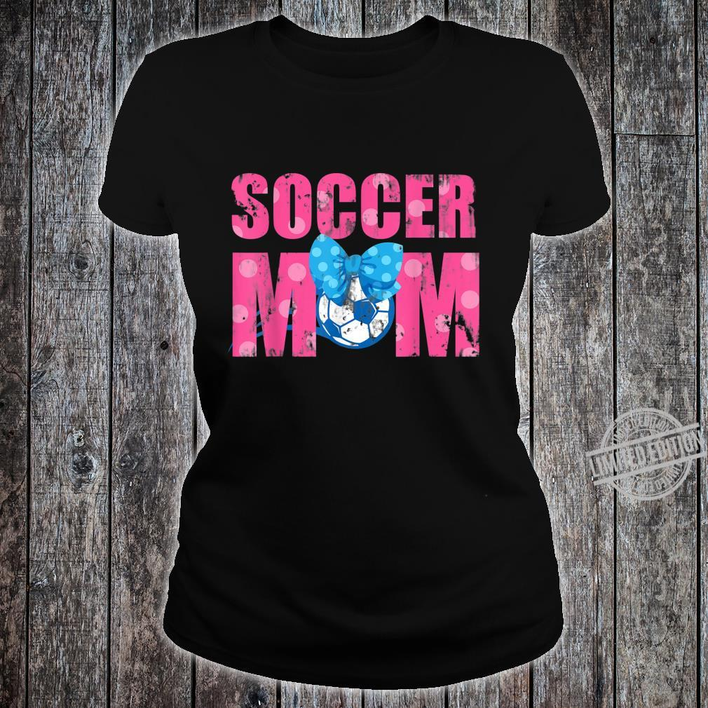 Football Soccer Sports Son Mom Mother Shirt ladies tee