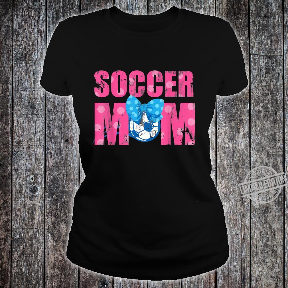 Football Soccer Sports Son Mom Mother Shirt ladies tee