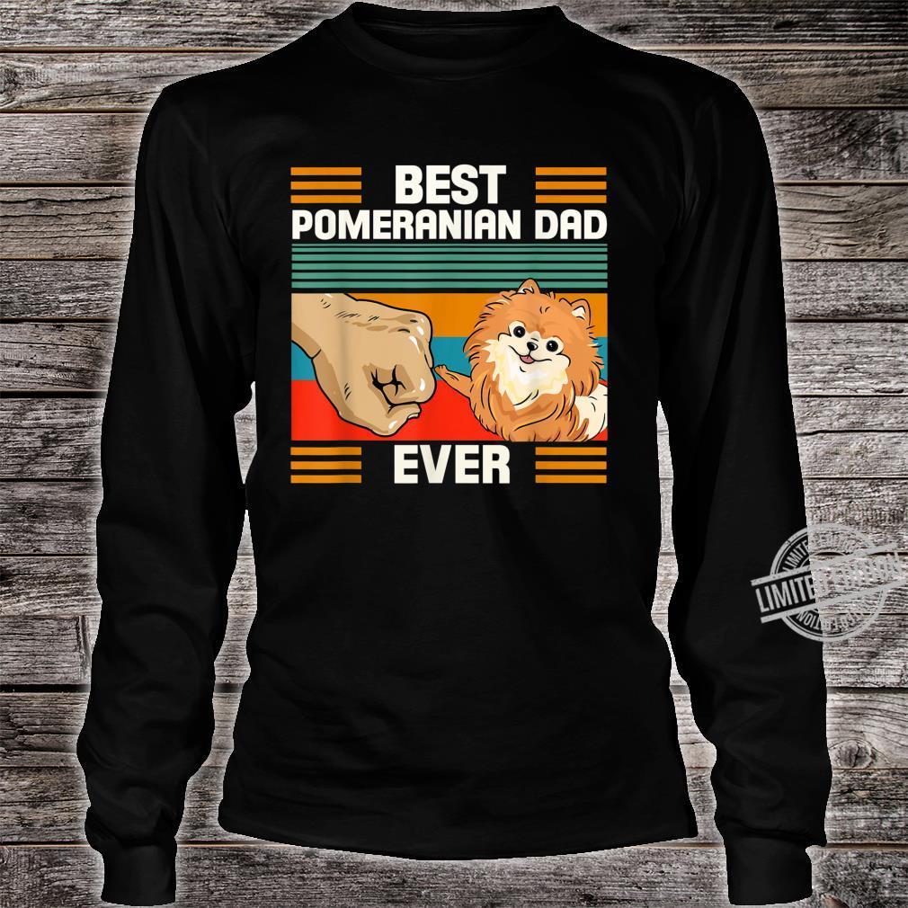 Funny Pomeranian Who Has PomPom Dog Friend Shirt long sleeved