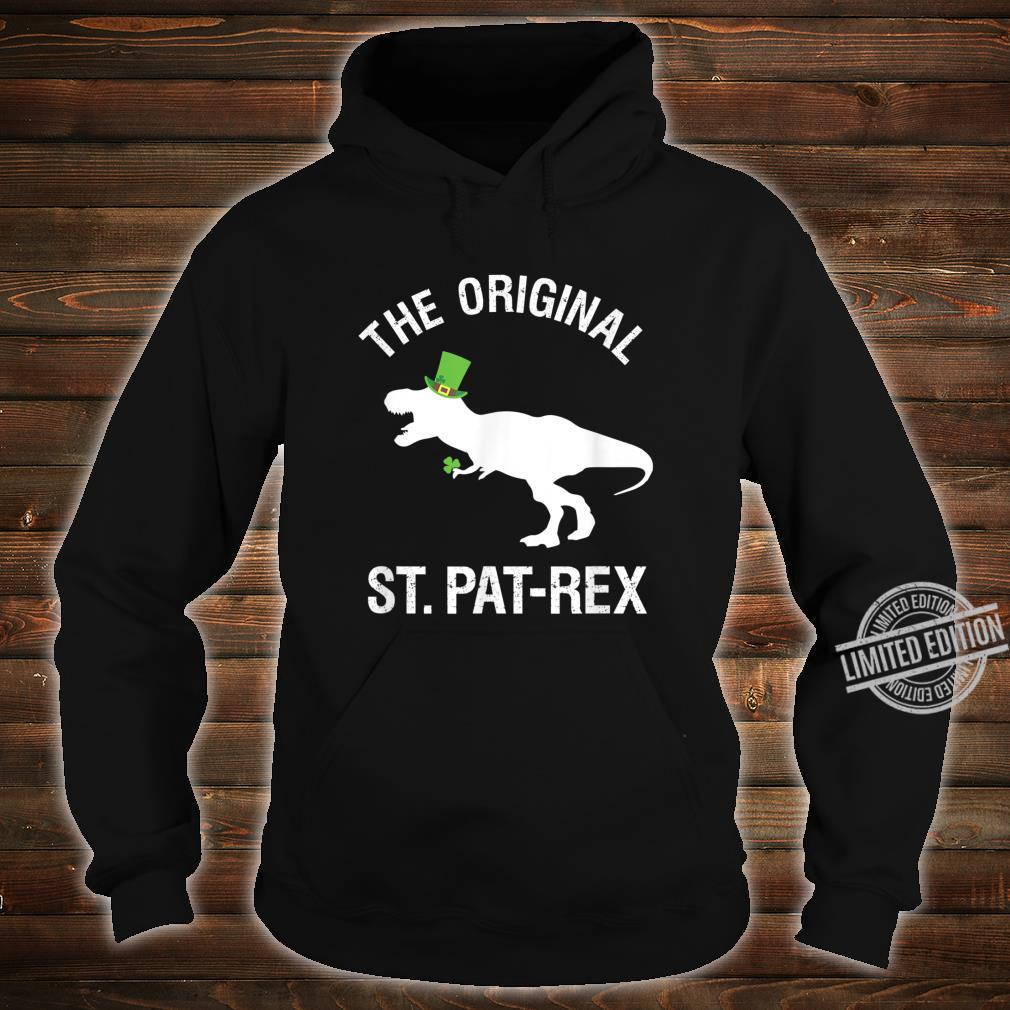 Funny St. Patrick's Day Dinosaur Shirt TRex Green Shirt hoodie