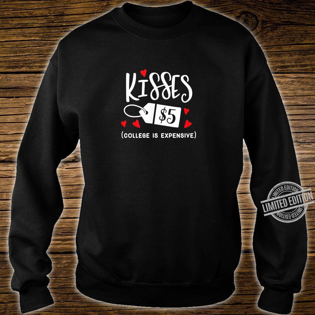 Funny Valentines Kisses Shirt sweater