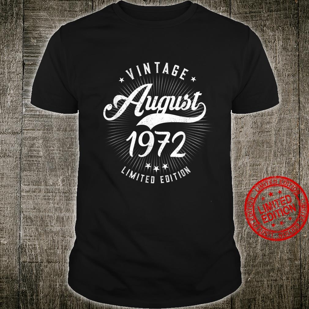 Geschenk zum 45. Geburtstag Jahrgang 1975 August Shirt