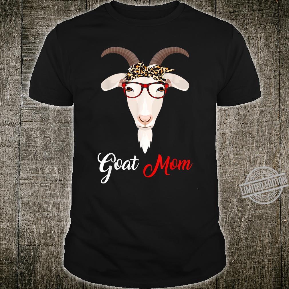 Goat Mom Hanging With Bandana Mama Shirt