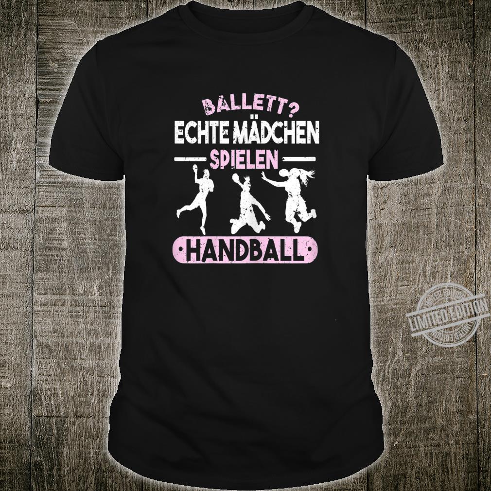 Handball Handballer Feldhandball Handballmannschaft Geschenk Shirt