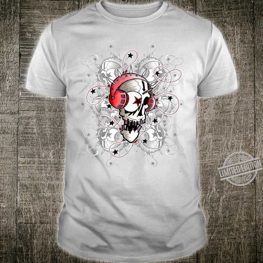 Headbhones Skull Shirt