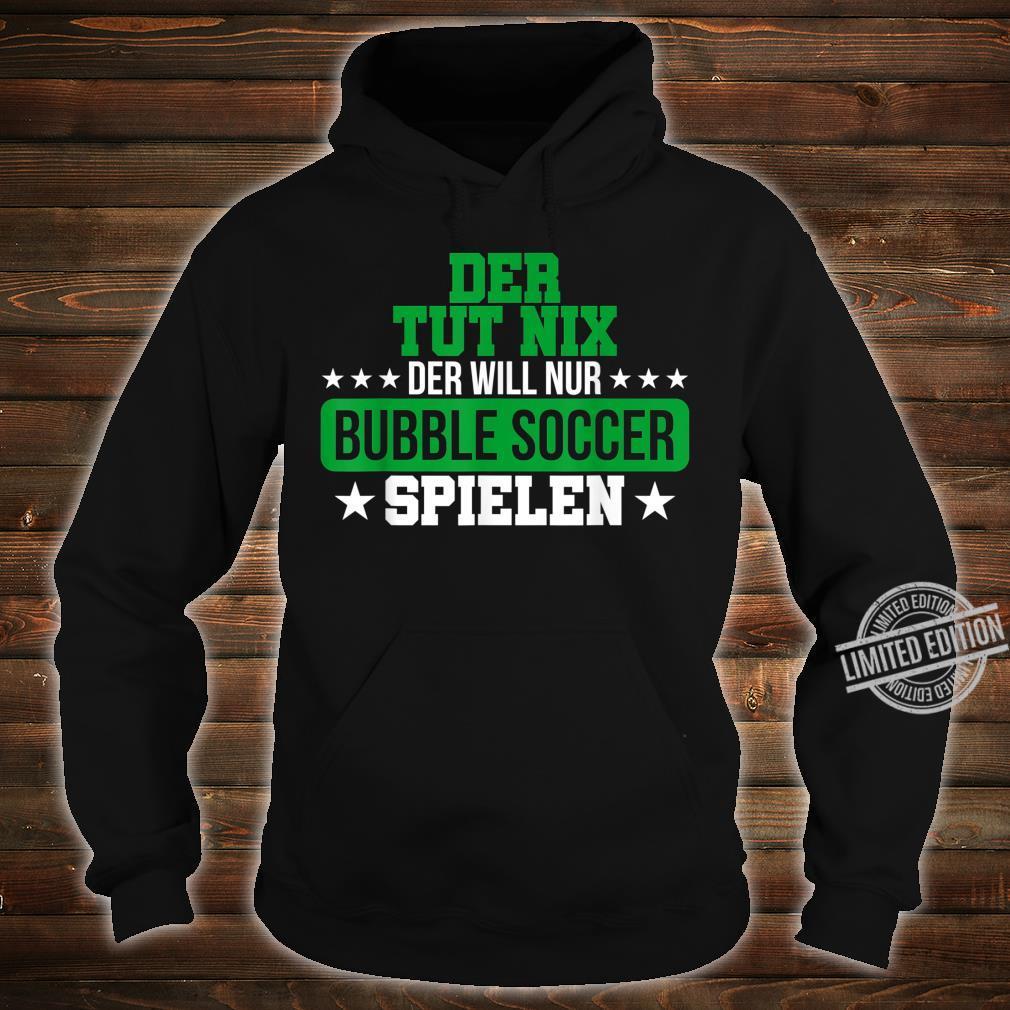 Herren Bubble Soccer Freizeit Hobby Bumper Geschenk Shirt hoodie