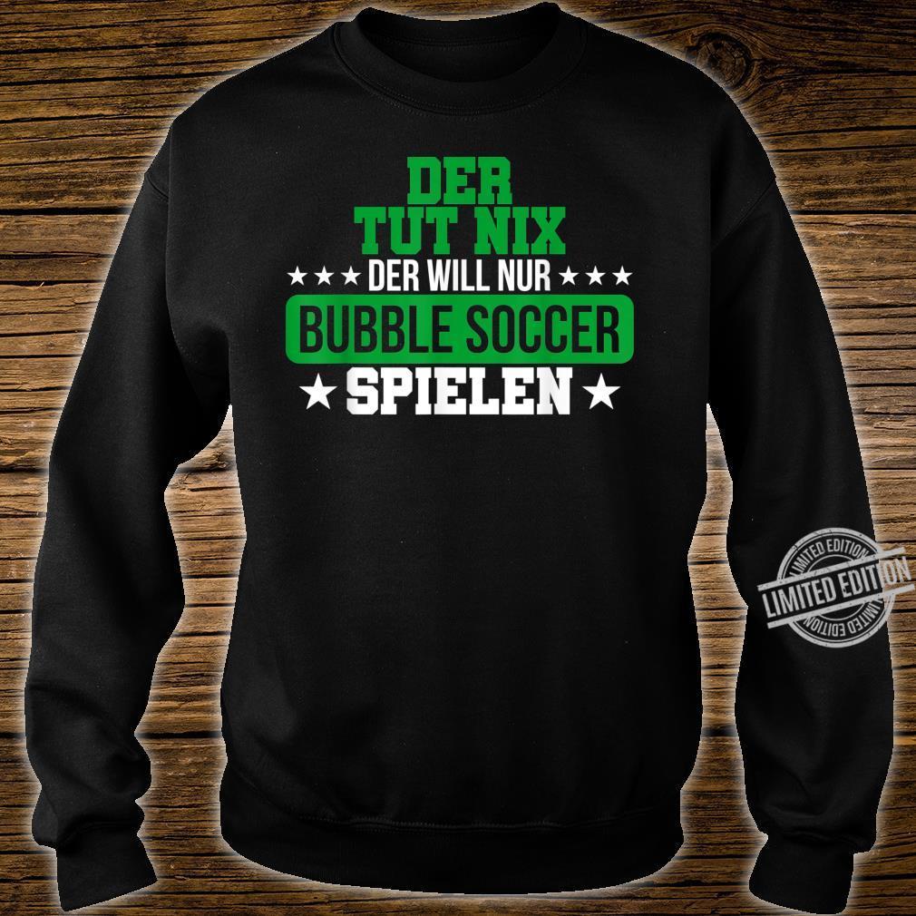 Herren Bubble Soccer Freizeit Hobby Bumper Geschenk Shirt sweater