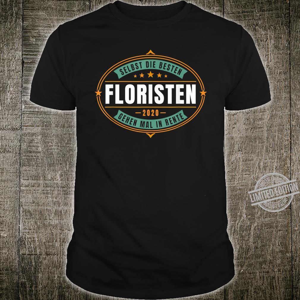 Herren Florist in Rente 2020 Shirt