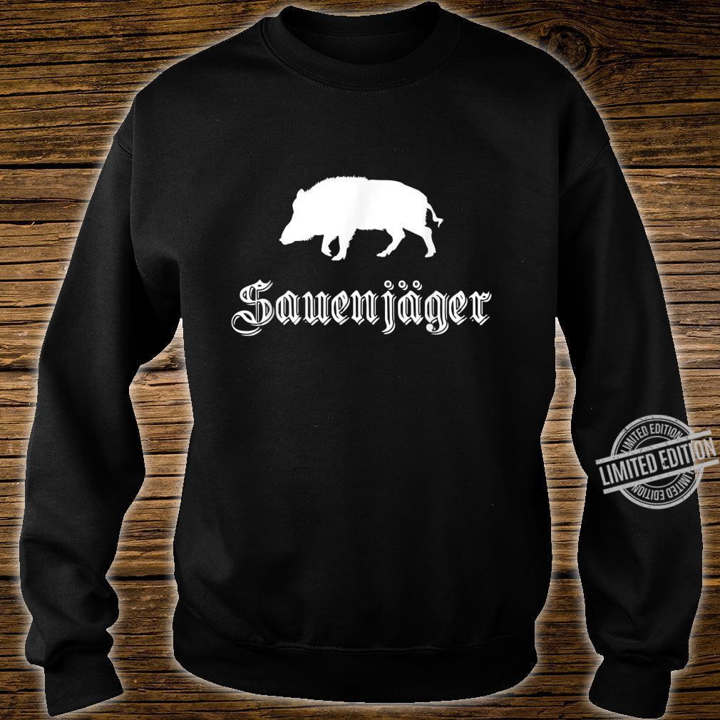 Herren Sauenjäger Jagd Outfit für Wildschwein Jäger Shirt sweater