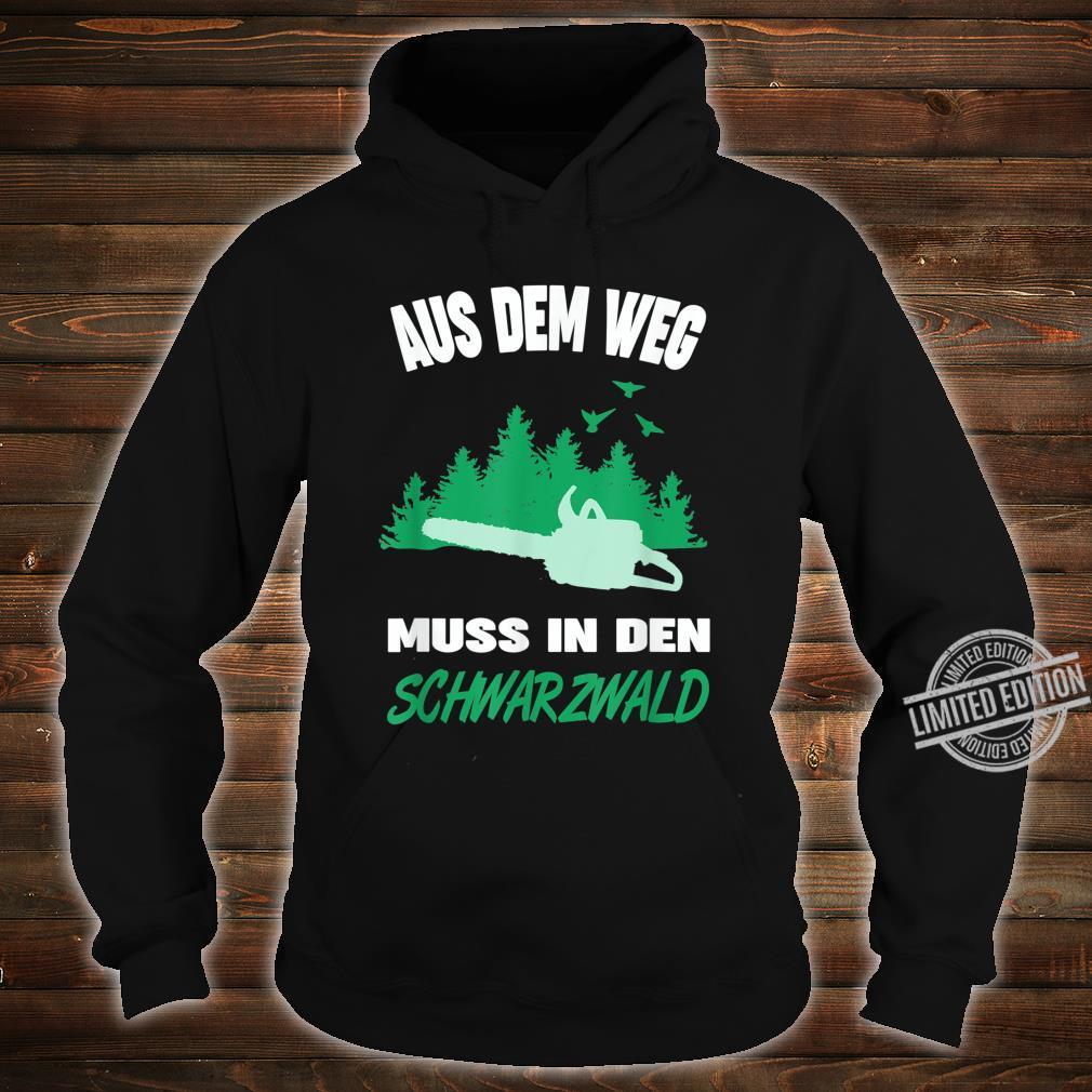 Herren Schwarzwälder Schwarzwald Heimat Motiv Förster Forstwirt Shirt hoodie