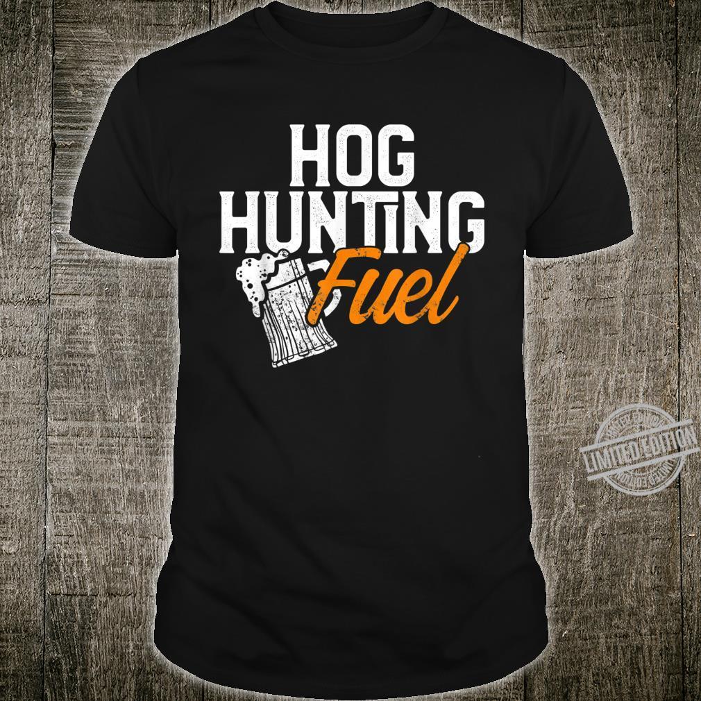 Hog Hunting Season Beer Boar Hunter Shirt