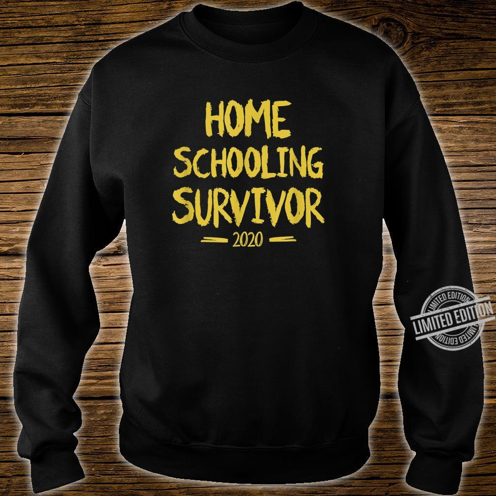 Home Schooling Survivor 2020 Sarcastic Home School Shirt sweater