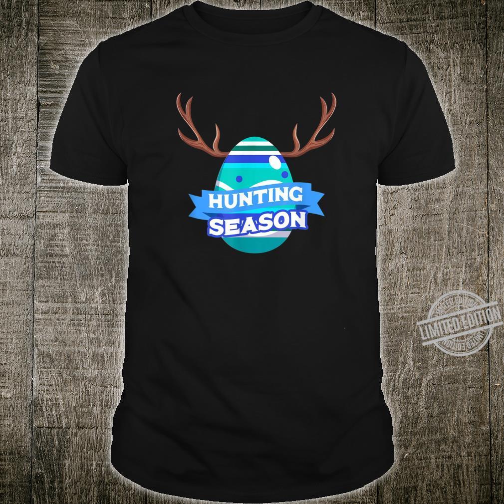 Hunting Season Easter Egg Basket Christian Shirt