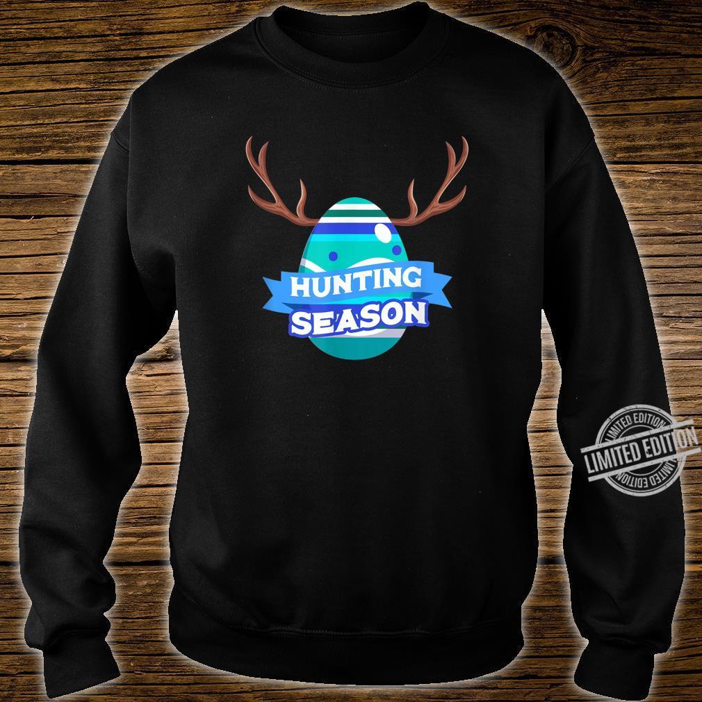 Hunting Season Easter Egg Basket Christian Shirt sweater